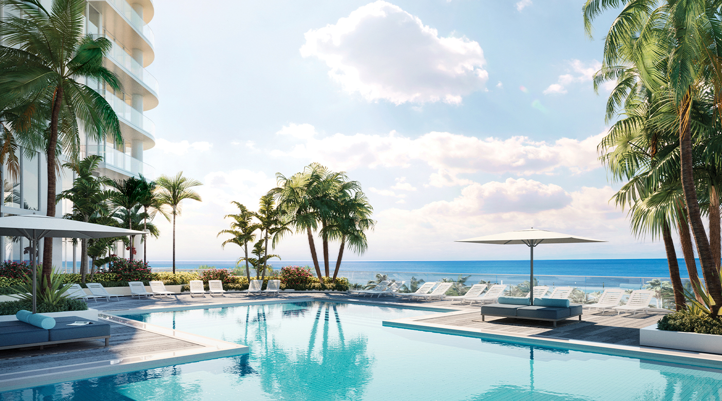 Elevated Oceanfront Resort-Style Pool