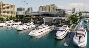 rendering of the new las olas marina in downtown fort lauderdale