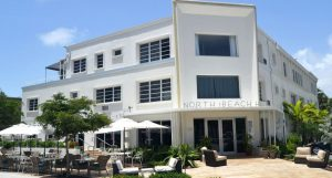 exterior of north beach hotel fort lauderdale